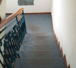 Treppenhaus einen 4 Sterne Hotels Hotel Alemagna