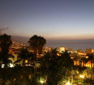 Abendlicher Blick vom Balkon Hotel Tigaiga