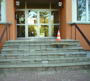 Eingangsbereich Vorderseite Hotel & Reiterhof an der Talsperre
