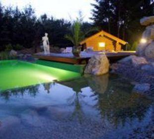 Naturbadeteich Ferienhotel Veldensteiner Forst