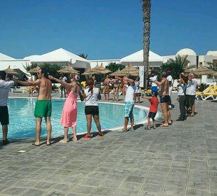 Gemeinschaftsspiele Animation SunConnect Djerba Aqua Resort