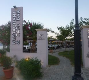 Eingang Corissia Park Hotel Corissia Beach