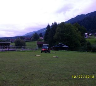 Mule Rennen Bio Bauernhof Knaller