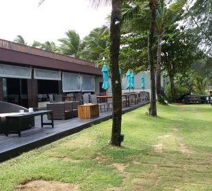 Restaurantterasse La Flora Resort & Spa