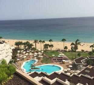 Blick aus Zimmer in der 9. Etage Sensimar Calypso Resort & Spa