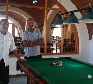 Billiard, die Männer sind begeistert