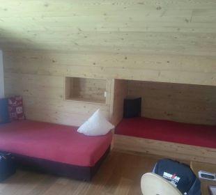 Auch 2 Kinder haben in Nr. 111 noch Platz Hotel Berghaus Bort