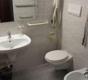 Badezimmer Hotel Cristina