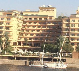 Das Hotel Steigenberger Hotel Nile Palace