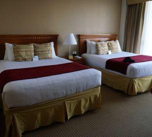 Die großen Doppelbetten Best Western Hotel Bayside Inn