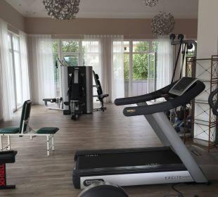 Teilansicht Fitnessraum Kurhotel Zink