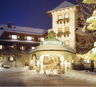 Trattlerhof Winter außen Hotel Trattlerhof