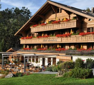 Der beste Ort um die Sonne zu geniessen!  Romantik Hotel Hornberg