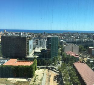 Ausblick von Suite Hotel Novotel Barcelona City
