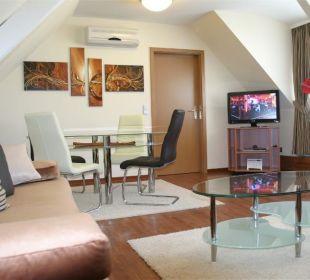 Junior Suite im Neubau, renoviert Ende 2009 Hotel Merkur