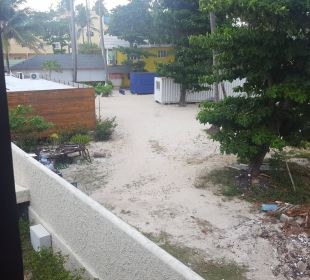 Blick vor unserer Zimmertüre  Hotel Vista Sol Punta Cana