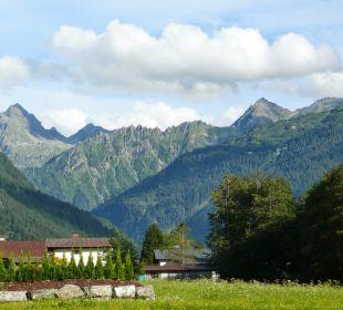 Blick auf den Valüla Landhaus Rudigier