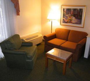 Blick auf die Couch Best Western Hotel A Wayfarer's Inn