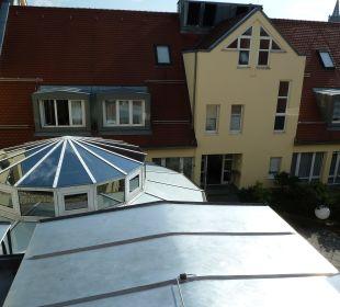 Ausblick zum Innenhof Comfor Hotel Frauenstrasse
