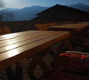 Abendstimmung  Alpengasthof Enzianhof