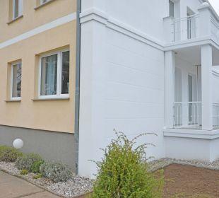 Villa Herbstwind- Giebel zum Hof Villa Herbstwind - Appartementvermietung Binz