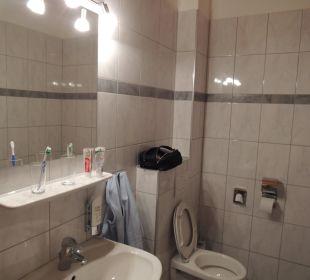 Badezimmer mit WC Hotel Fischerhof Glinzner