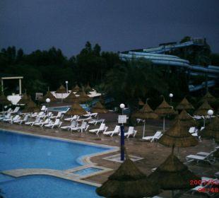 Nächtlicher Blick vom Balkon Hotel Club Acquaviva