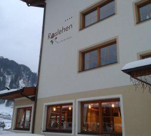 Hotel von außen Hotel Roslehen