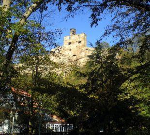 Burgruine über Hotel Hardenberg BurgHotel