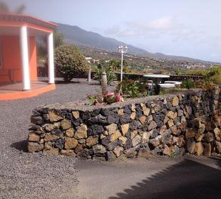 Einfahrt zum Bungalow Villen Los Lomos