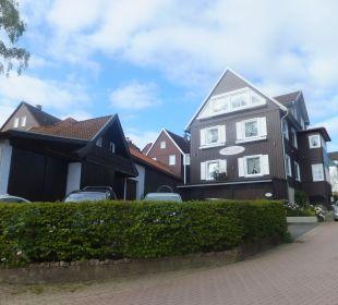 Blick auf das komplette Haus Bergidylle Harz - Suites
