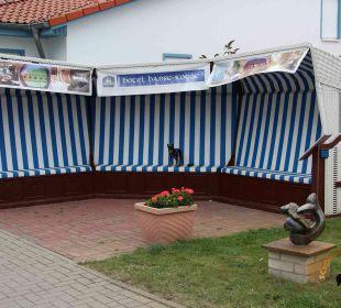 Der G8-Gipfel-Strandkorb Best Western Hotel Hanse-Kogge