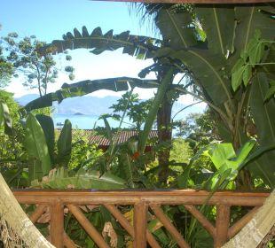 Ausblick vom Balkon unseres Zimmers Hotel Pousada Naturalia