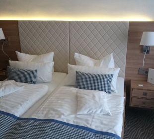 Schlafbereich Hotel Bernstein Rügen