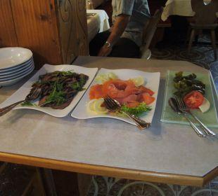 Salatbuffet Hotel Silbertal