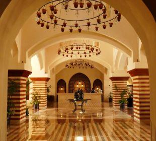 Lobby im arabischen Stil Hotel Iberotel Makadi Beach