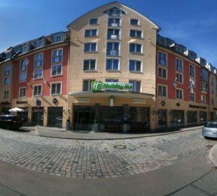 Das Hotel an der schönen Engelhardsgasse Hotel Holiday Inn Nürnberg City Centre