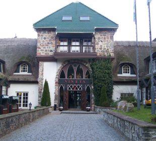Eingang Hotel Forsthaus Damerow