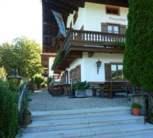 Sommerterrasse Berggasthaus Weingarten