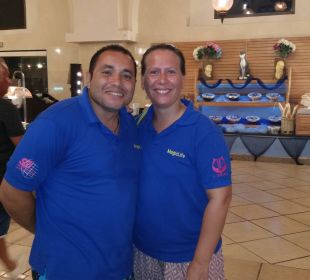 Warid und Magdalena, Betreiber Tauchcenter TUI MAGIC LIFE Kalawy