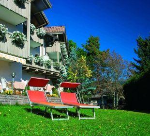 Sonne genießen im Hotel Dolomitenblick Ritten Hotel Dolomitenblick