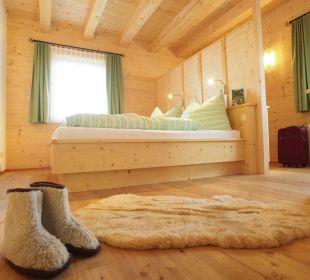 Schlafzimmer Chalet Schmittenhöhe Ferienhof Oberreit