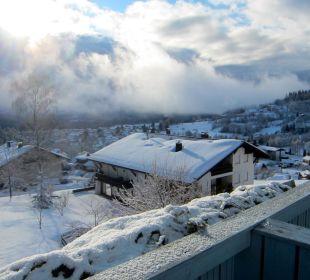 Ausblick vom Balkon Landhaus Korte