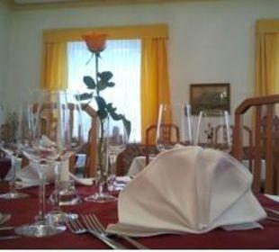 Gedeckter Tisch Hotel Kirchenwirt