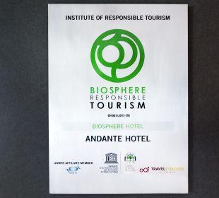 Sonstiges Hotel Andante