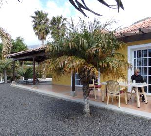Hintereingang in Küchentrakt Villen Los Lomos