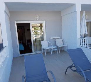 Unser schöner Balkon  JS Hotel Miramar