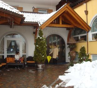 Entrata dell'albergo Leading Relax Hotel Maria