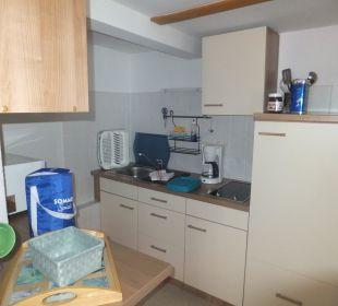 Küche im Amselnest Bergidylle Harz - Suites