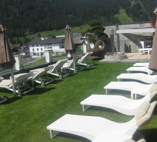 Ein Blick in die Berge Hotel Cervosa